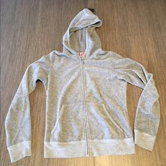 Juicy terry cloth zip up! Gently used! Juicy Couture Tops Sweatshirts & Hoodies
