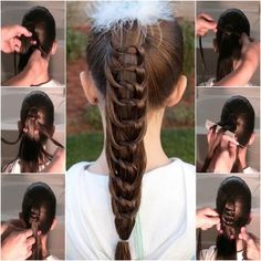How to DIY Pretty Knotted Ponytail Hairstyle