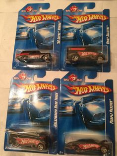 4 Vehicles 2018 Hot Wheels Kmart K-Day Cars Set Of Four New In Package
