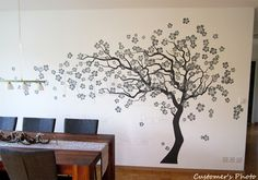 cherry blossom stencil - Cerca con Google