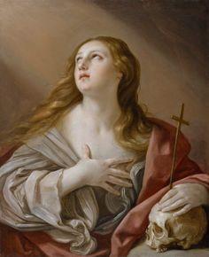 Penitența Mariei Magdalena/La Magdalena penitente-- Guido Reni (1635)