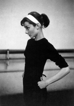 vintagegal: Audrey Hepburn photographed by David Seymour rehearsing for Funny Face, Paris, 1956