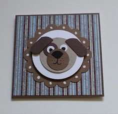 Cinthia's creative spot: Dog Punch Art Card