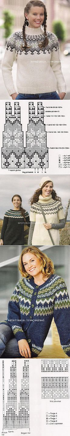 Knitting sweaters pattern icelandic 31 Ideas for 2019 Fair Isle Knitting Patterns, Fair Isle Pattern, Sweater Knitting Patterns, Knitting Stitches, Knit Patterns, Free Knitting, Knitting Sweaters, Crochet Pullover Pattern, Knit Crochet