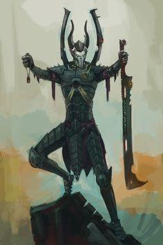 Dark Eldar: Consecration WIP by ~Beckjann on deviantART
