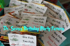 Dr. Suess Birthday party ideas   Dr. Seuss Birthday Party! Dr. Seuss Party Food Ideas, Games, ...   Ni ...