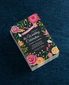 Design your Floral Wedding Invitations in Seconds. It's easy and FREE to use.