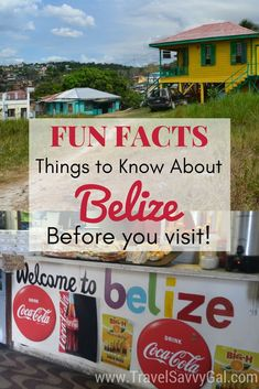 From Belizean sayings and fun facts to practical travel tips and local celebrities, all the things you need to know about Belize before you visit. Head to the blog for more!