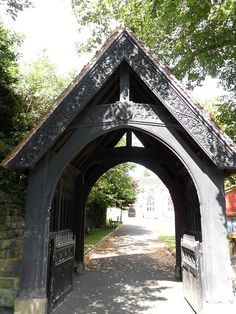 vwcampervan-aldridge: Lych Gate - St Michaels Church, Tettenhall,Wolverhampton England.