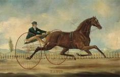 These olf harness racing painting are some of my favourites.