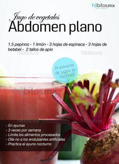 Hábitos Health Coaching | JUGO DE VEGETALES ABDOMEN PLANO