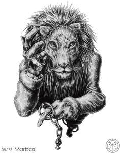 Đặc biệt 72 Con Quỷ Của Vua Solomon - MARBAS bài tarot