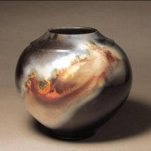 Pit Fired Pot by Judy Thompson