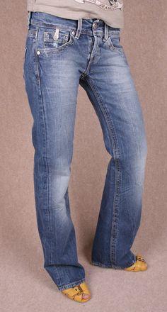 Replay Jeans Janice Womens Boyfriend New Authentic