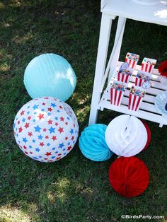 of July Party Ideas with Coca-Cola® - DIY decorations, food, picnic, desserts table, printables and lawn games for all the family celebrations! 4th Of July Games, 4th Of July Party, Fourth Of July, Picnic Activities, Art For Kids, Crafts For Kids, Garden Picnic, Photos Booth, Frozen