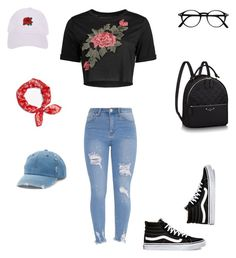 """Untitled #435"" by selise-miles on Polyvore featuring Vans, Armitage Avenue, rag & bone and Mudd"