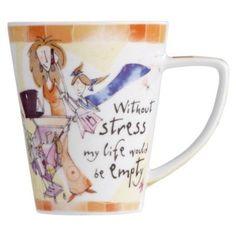 Born to Shop 'Stress' Mug
