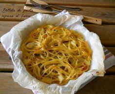 Frittata di pasta ripiena al forno