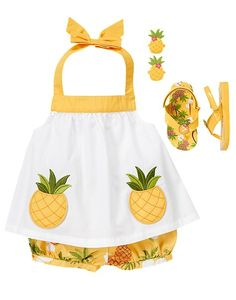 OMG. So cute! Pineapple princess!
