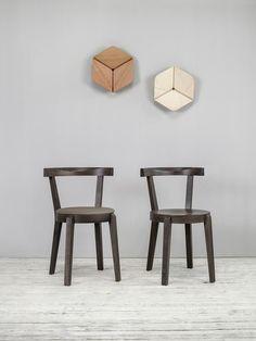 ply ii chaise de salle manger en ch ne massif 149 20 assises pinterest. Black Bedroom Furniture Sets. Home Design Ideas