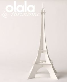 "Symbol of the ""Made in France"" the Olala Eiffel tower is a product for tourists wishing to buy a product actually coming from the country they're visiting, and which visually speaks of it."