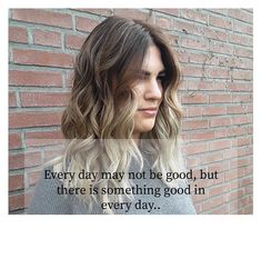 Balayage + inspirational quote • Salon du Trezo Salons, Inspirational Quotes, Long Hair Styles, Beauty, Life Coach Quotes, Lounges, Long Hair Hairdos, Cosmetology, Long Hairstyles