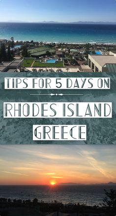 Rhodes Island, Greece: Travel Tips