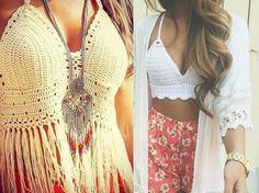 moda | como usar | dicas de moda | consultoria de moda | top de crochê | top cropped | top cropped de crochê | cropped top de crochê | moda verão 2015 | moda 2015