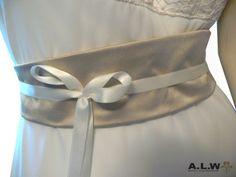 Gürtel für die Braut von alw-design auf DaWanda.com