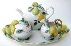 Franz Porcelain Lemon