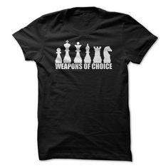 Chess - Weapons of Choice T Shirt T-Shirt Hoodie Sweatshirts oiu. Check price ==► http://graphictshirts.xyz/?p=61526