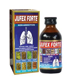 #‎JufexForte‬ is a scientific, more ‪#‎human caring & compassionate approach for tough ‪#‎CoughManagement.  * Exerts ‪#‎mucolytic‬ action, helps to expel sputum. * Acts as ‪#‎bronchodilator‬, improves ventilation in airways. * Checks ‪#‎infections, strengthens ‪#‎body defense. * Provides anti-allergic action, ‪#‎stabilizes mast ‪#‎cells‬.    #AyurvedicTreatmentForCough   #CoughSyrup   #HerbalMedicineForCough   #CoughSyrup   #CoughAndCold   #MedicineForCough #AyurvedicCoughSyrup…