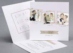 Comics Hochzeitskarten Hochzeitskarten Kreativehochzeitskarten