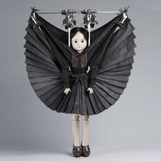 Dutch fashion designers Viktor & Rolf will present a collection of outfits designed for dolls at the Antwerp gallery of artists Studio Job.
