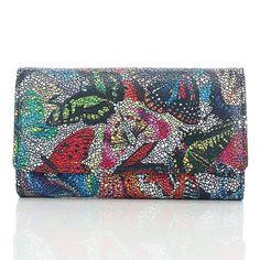 Ekskluzywny skórzany portfel damski Paolo Peruzzi