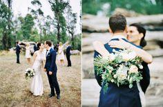 bride and groom portraits in Marysville