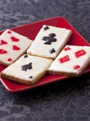 Sablés jeu de carte