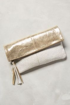 Tarina Shimmered Pouch - anthropologie.com #anthrofave