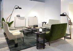 Riga armchair & settee, by Eric Jourdan