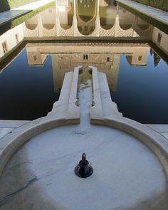 Fuente del Patio de los Arrayanes - Alhambra