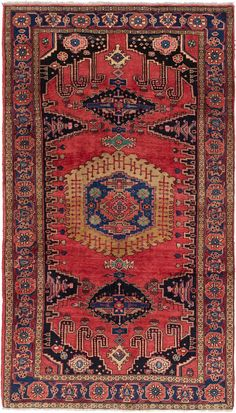 Red x 6 Viss Persian Rug Carpet Flooring, Rugs On Carpet, Carpets, Persian Carpet, Persian Rug, New England Style, Classic Architecture, Buy Rugs, Hand Knotted Rugs