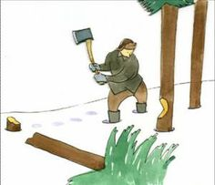 """The story of a woodcutter .If we don't take the time to sharpen the """"axe"""", we will become dull and lose our effectiveness. Motivational Stories, Motivational Thoughts, Proverbs 16 24, Stephen Covey, Moral Stories, Touching Stories, Inspirational Quotes Pictures, Axe"""