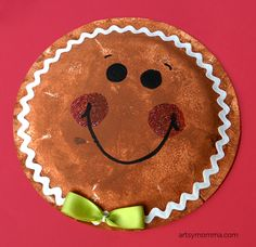 Looking for a fun Christmas art project to do with kids? Check out these 4 easy ways to make Sponge Painted Gingerbread Man Cookie Crafts! Preschool Gifts, Preschool Christmas, Christmas Crafts For Kids, Christmas Activities, Christmas Fun, Preschool Winter, Preschool Class, Gingerbread Man Crafts, Gingerbread Man Activities