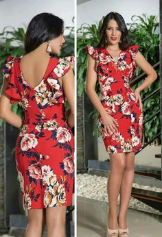 Short prom long dresses tend to grow in reputation, as well as having the sensational patterns here illustrate precisely why. Flowery Dresses, Elegant Dresses, Pretty Dresses, Casual Dresses, Short Dresses, Girls Dresses, Prom Dresses, Summer Dresses, Look Fashion