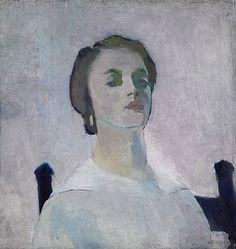 Portrait of Katherine RhoadesArthur Beecher Carles Oil on canvas, 1912