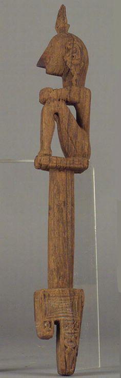 Ancestor's figure Leti Island? Size: 34 x 4 x 5 cm Collection: Breitenstein, Heinrich 1897 Museum of Ethnology, Vienna Cat. no. 60983  Cat. no. 60983 (Museum of Ethnology, Vienna)