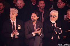 T.O.P @ Dior Homme Fashion Show (160123)