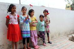 Our girls at the orphanage in Nepal!  Restore Nepal