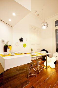 apartment_diningroom_tom dixon lighting  by beata woznica
