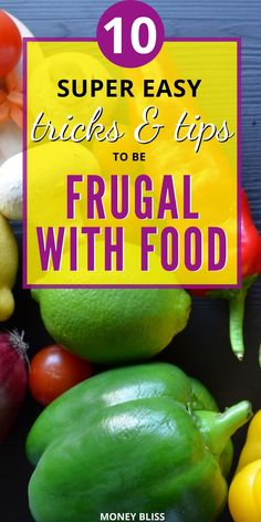 One of the best frugal living tips happens with your groceries budget. This is the perfect place for frugal living for beginners. Start with being frugal with food. Cooking healthy meals will be your new nomral. Start saving money with these simple ideas! Frugal Living Tips, Frugal Tips, Frugal Meals, Budget Meals, How To Eat Less, Make More Money, Ways To Save Money, Extra Money, Groceries Budget